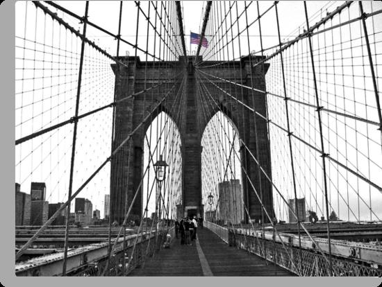 Brooklyn Bridge, NYC by Jeanne Horak-Druiff