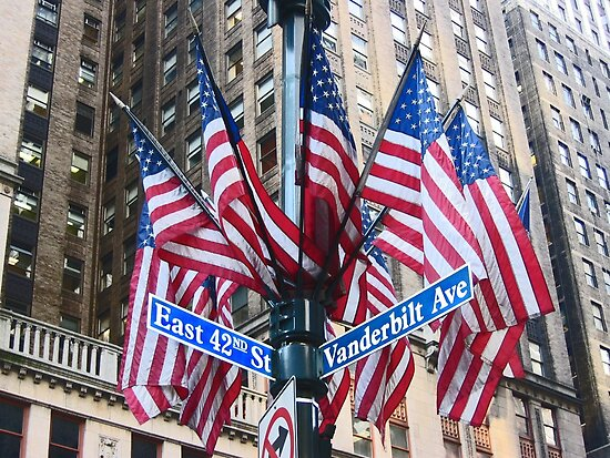 New York stars & stripes by Jeanne Horak-Druiff
