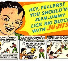 Ju-Jitsu! Vintage ad by PrettyStuff