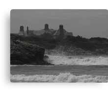 Haze & waves Canvas Print