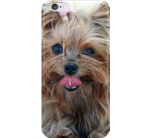 Cute Yorkshire Terrier iPhone Case/Skin