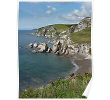 Seascape South Devon England UK Poster