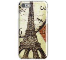 Eiffel Tower Vintage iPhone Case/Skin