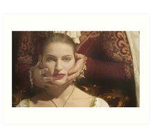 Lady Morgan's Portrait Art Print