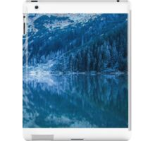 Mountain tarn iPad Case/Skin