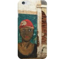 Urban art in Old San Juan iPhone Case/Skin
