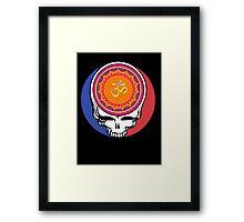Grateful Dead Om Your Face Framed Print