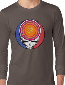 Grateful Dead Om Your Face Long Sleeve T-Shirt
