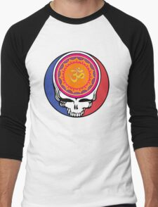Grateful Dead Om Your Face Men's Baseball ¾ T-Shirt