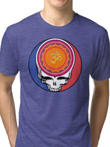 Grateful Dead Om Your Face Tri-blend T-Shirt