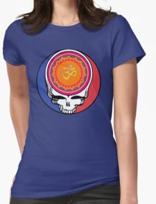 Grateful Dead Om Your Face Womens Fitted T-Shirt
