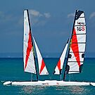 Two Sailboats by cclaude