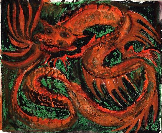 Fire Dragon by Visuddhi