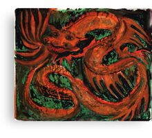 Fire Dragon Canvas Print