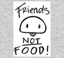 Friends Not food Baby Tee
