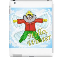 Hello, winter! iPad Case/Skin