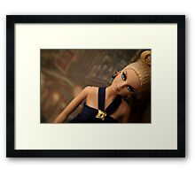 Badgley Mischka Barbie Framed Print