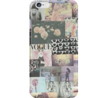 Tumblr Collage Neutral iPhone Case/Skin
