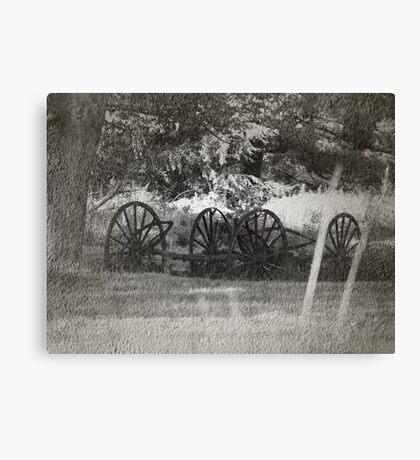 From The Dust Of The Old Trail Canvas Print