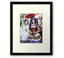 The Goth Weekend at Whitby, Oct 2010. 24 Framed Print