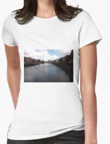 Grattan Bridge - Ireland Womens Fitted T-Shirt