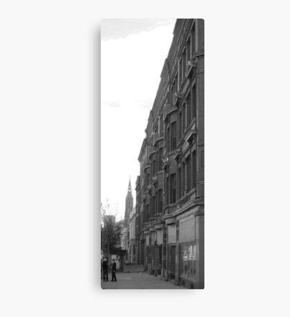 Buffalo Streetscape Canvas Print