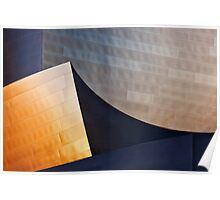 Disney-Gehry Abstract Poster