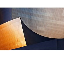 Disney-Gehry Abstract Photographic Print