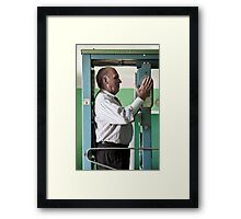 What you cannot see... Framed Print
