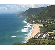 View of Stanwell Park Photographic Print