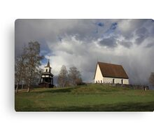 Överlännäs church, Höga Kusten / High Coast, Sweden Canvas Print