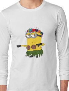 Hawai Minion ! Long Sleeve T-Shirt