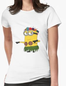 Hawai Minion ! Womens Fitted T-Shirt