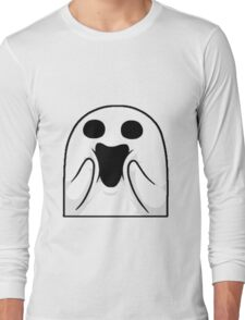 Happy Ghost ! Long Sleeve T-Shirt