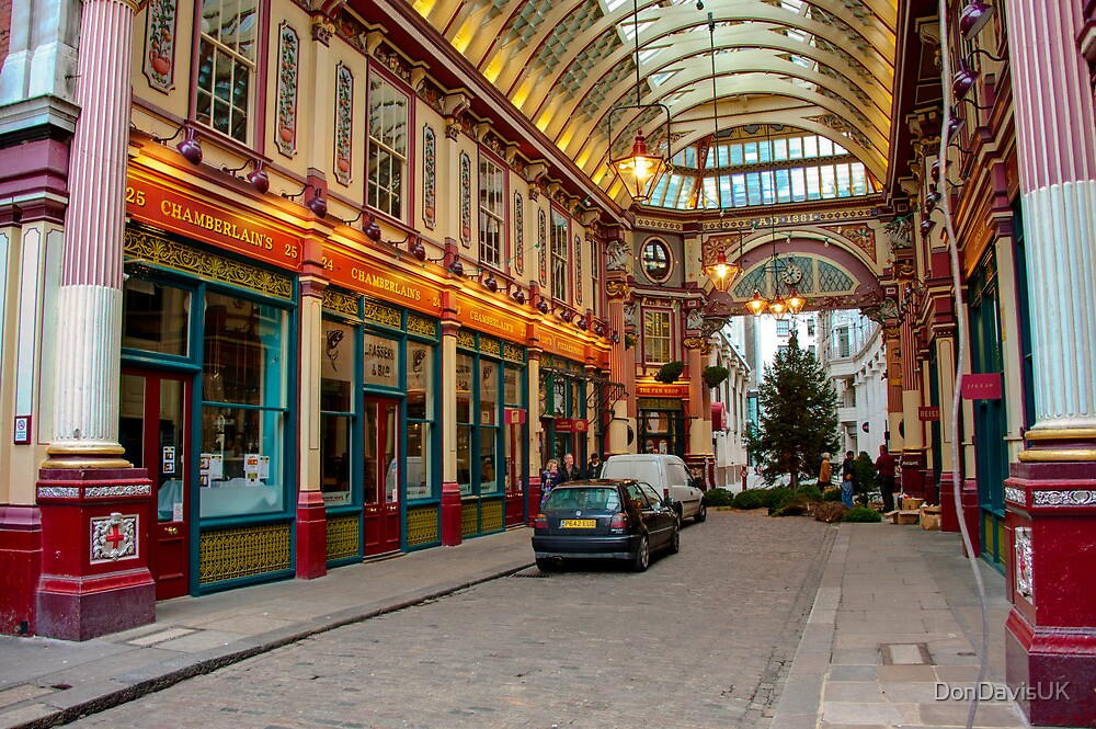 Leadenhall Market: City of London, UK. by DonDavisUK
