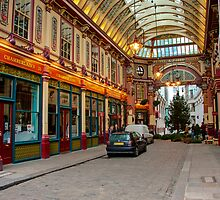 Leadenhall Market: City of London, UK. by DonDavisUK
