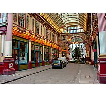 Leadenhall Market: City of London, UK. Photographic Print