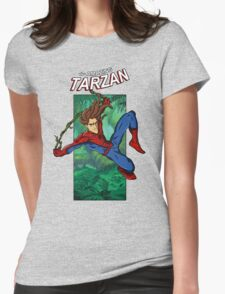 The Amazing Tarzan Womens Fitted T-Shirt