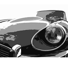 E Type Jaguar Photographic Print