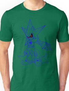 Neo Metal Sonic [Lines] Unisex T-Shirt