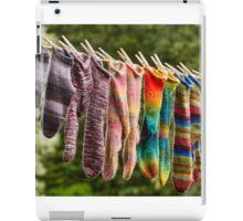 Nova Scotia Hand Knitted Socks iPad Case/Skin