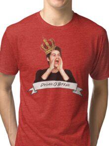 Dylan O'Brien OUR KING Tri-blend T-Shirt