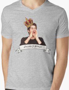 Dylan O'Brien OUR KING Mens V-Neck T-Shirt