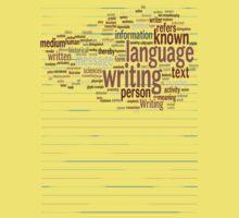 Known Language Writing Person Kids Tee