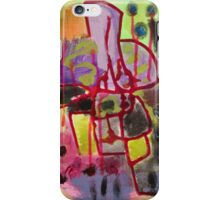 all over the place iPhone Case/Skin