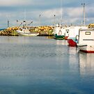 Fishing Boats at Feltzen South by kenmo