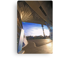 BMW Museum - entrance and Olympia tower Canvas Print