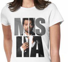 Misha Misha Misha Collins Womens Fitted T-Shirt