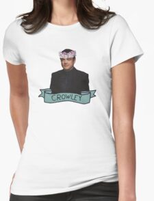 Crowley, the king of hell Womens Fitted T-Shirt