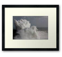 Surf's up 1826 Framed Print